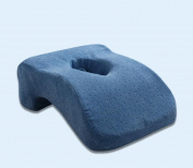 Memory pillow slow rebound office seat cushions student nap pillow , blue