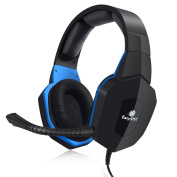 [Easter Gift Promotion] EasySMX PS4 Xbox One Gaming Headset for PS4 and Mobile Phone, PC, for Xbox One via An Adapter (NOT INCLUDED IN THE PACKAGE) Black
