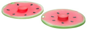 Charles Viancin Airtight Silicone Drink Covers, Set of 2, Watermelon