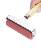 MEEDEN Hard Rubber Brayer Roller 10cm for Printmaking Craft Projects