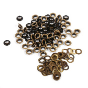 8/10/12/14/17mm Antique Brass Scrapbook Eyelets Metal Eyelets for Leather Craft, Clothing, Handbags, Shoes, Garment Clothes Eyelets Sewing