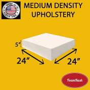 FoamRush Upholstery Foam Medium Density Firm Foam Soft Support (Chair Cushion Square Foam for Dinning Chairs, Wheelchair Seat Cushion Replacement)