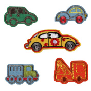 Partyfareast Iron On Patches Set Cute Embroidered Applique Sequins Badge