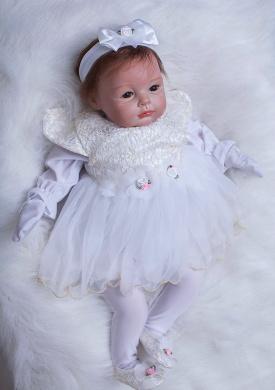OtardDolls  .   reborn baby doll soft vinyl silicone reborn doll 60cm Lovely Girl