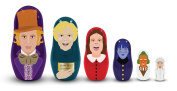 Willy Wonka and the Chocolate Factory Nesting Dolls