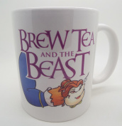 Brew Tea and the Beast 330ml Ceramic Mug