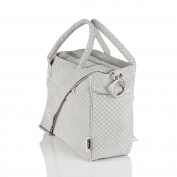 MoBaby Carrera, Chic Plush Nappy Bag Tote, Travel Accessories Included