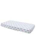 Bebe au Lait Classic Muslin Changing Pad Cover, Oahu