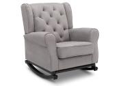 Delta Children Emma Nursery Rocking Chair, Dove Grey