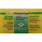 1000 Prinz stamp hinges. Finest quality with acid free gum.