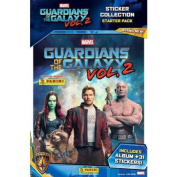 Panini Guardians Of The Galaxy Vol. 2 Movie Sticker Starter Pack