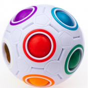 Yongjun Magic Rainbow Ball Magic Cube Puzzle Cube Puzzle Toys By LifenC
