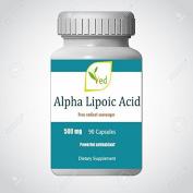 Alpha Lipoic Acid 500mg, 90 Capsules