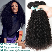 Brazilian Kinky Curly Wave 14 16 46cm Human Hair Extensions, Luxurious Virgin Hair, The Choice Of All The Beautiful Women.