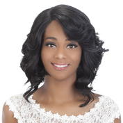 Vivica A Fox Hair Collection Tori New Futura Synthetic Fibre Full Lace Front Wig, 1B, 300ml