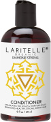 Laritelle Organic Travel Size Conditioner 60ml | Hair Loss Prevention, Anti-Breakage, Split Ends Treatment | Rosemary, Ginger & Cedarwood | NO GMO, Sulphates, Alcohol, Parabens, Phthalates | GF