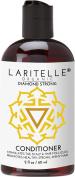 Laritelle Organic Travel Size Conditioner 60ml   Hair Loss Prevention, Anti-Breakage, Split Ends Treatment   Rosemary, Ginger & Cedarwood   NO GMO, Sulphates, Alcohol, Parabens, Phthalates   GF