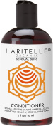 Laritelle Organic Travel Size Conditioner 60ml   Hair Loss Prevention, Anti-Breakage, Split Ends Treatment   Argan Oil, Rosemary & Palmarosa   NO GMO, Sulphates, Alcohol, Parabens, Phthalates   GF
