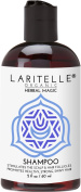 Laritelle Organic Travel Size Shampoo 60ml   Hair Loss Prevention, Clarifying & Strengthening   Rosemary & Saw Palmetto   NO GMO, Sulphates, Alcohol, Parabens, Phthalates   Unscented. Hypoallergenic GF