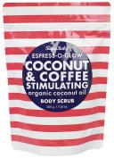 SugarBaby Espress O Glow Coconut and Coffee Stimulating Body Scrub, 210ml