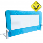 Tatkraft Guard Foldable Bed Rail Baby Safe Sleep 120X47X65cm Powder Coated Steel Plastic Polyester