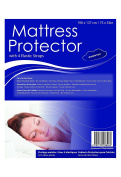Premium Fitted Sheet Double Bed Sized Mattress Protector Elastic Strap.