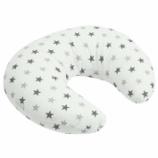 Breast Feeding Maternity Nursing Pillow Silver Twinkle