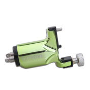 Dragonhawk Extreme Rotary Tattoo Machine Carbon steel Machine for Tattoo Artists with Normal Clip Cord Colouring Green