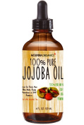 Jojoba Oil - Molivera Organics Premium Jojoba Oil 120ml - Best for Hair, Skin, Face & Nails