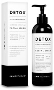 All Natural Activated Charcoal Facial Cleanser, Organic Acne Treatment, Exfoliate Face Wash, Pore Minimizer & Skin Rejuvenation for Purifying Skin with Aloe Vera Gel and Coconut Oil Extract
