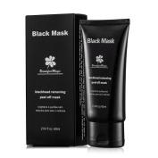 Blackhead Remover Purifying Skin Soft Charcoal Black Peel off Mask