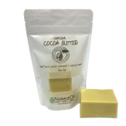 RAW Cocoa Butter_100% Pure-Prime-Pressed. Available in Natural Bars Or Deodorised Wafers (120ml or 0.5kg). Packaged in the USA