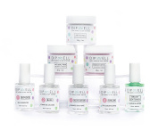 Dipping Nail Starter Kit, Easy Acrylic Powder and Gel Resin Kit For Dip, Starter System For French Set by DipWell Nails