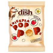 Little Dish Chickpea Pop Pops Sweet Red Pepper Flavour 17g