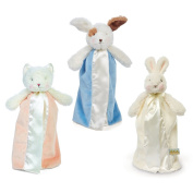 Bunnies By The Bay Bundle of 3 Bye Bye Buddies - Purr-Ty Kitty, Skipit Puppy & White Bunny