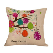 Pillow Case,TOPUNDER Easter Sofa Bed Home Decoration Festival C