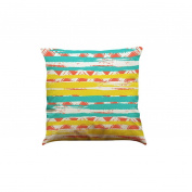 Pillow Case,TOPUNDER Home Decor Colour Geometric Lines Cotton Linen Throw