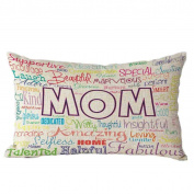 Pillow Case,TOPUNDER Mother's Day Rectangle Sofa Bed Decoration Cushion Cover A