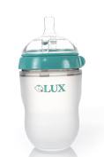 LUX Baby Bottle | Anti Colic / Anti-colic| Infant Bottles | Newborn | Silicone| Mimics Breastfeeding | Nursing | BPA Free | No Leaking| by LUX Baby Bottle