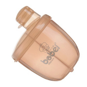 Jili Online Portable Rotary Baby Milk Formula Dispenser Powder Box Container 120g - Coffee