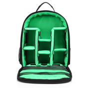 Anshinto Nylon Travel Backpack Camera Backpack Bag Waterproof Case For Canon