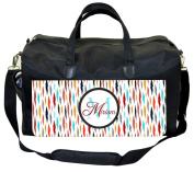 Colourful Ikat Customizable Nappy Bag