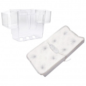 Deluxe PillowTop Changing Pad with Nappy Organiser