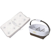 Deluxe PillowTop Changing Pad with Nappy Caddy