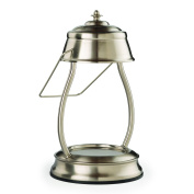 Hurricane Candle Warmer Lantern Brushed Nickel