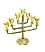 Metal Brass Candle Stand For 7 Candles