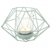 Candle Holder Geometric Tea Light Candle Holder