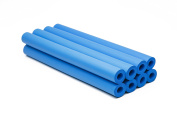 Blue Foam Grip Tube - Large Hole - Pack of 8