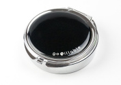 GoPillable Large Black OnyxPill Box for Purse for Pocket