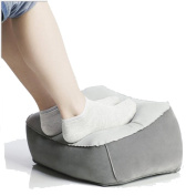 Coscelia Foot Pillow Inflatable Travel Leg Cushion Cushion Helps Reduce Risks On Car Camp Aeroplane Home Flights